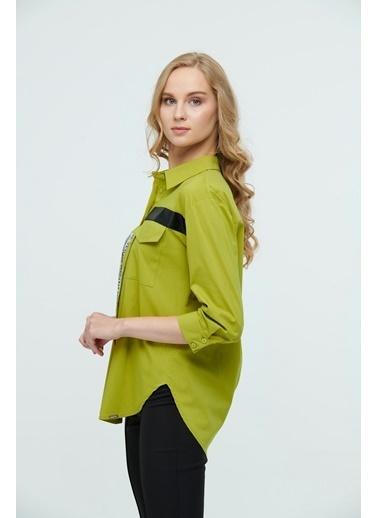 JEANNE D'ARC Bluz Yeşil